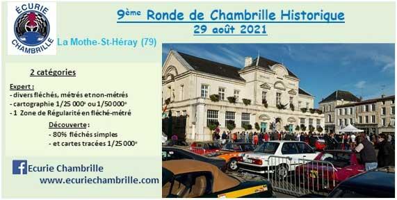 Gazette 2021 – La 9e Ronde de Chambrille, vue de l'intérieur